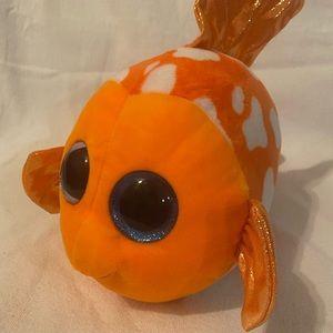 TY BEANIE BOO SAMI THE FISH - EUC